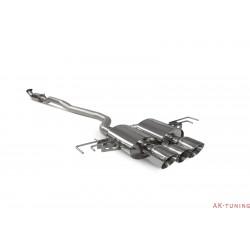 Honda Civic Type R FK8 L/H Drive - Part-resonated flex-back system - Daytona ändrör - Scorpion