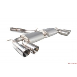 Volkswagen Golf MK7 R - Non-Cat-back (resonated) utan avgasspjäll - Daytona ändrör - Scorpion | SVWS044D
