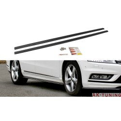Sidokjol splitters - VW Passat B7 R-line