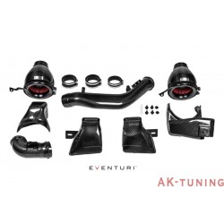 BMW M3/M4 F8x - Full Svart Kolfiber insug - Eventuri | EVE-F8XM-CF-INT
