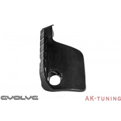 BMW M3/M4 F8x - Svart Kolfiber Engine Cover - Eventuri | EVE-F8XM-CF-ENG