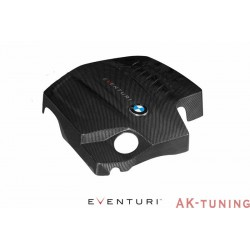 BMW N55 - Svart Kolfiber Engine Cover - Eventuri