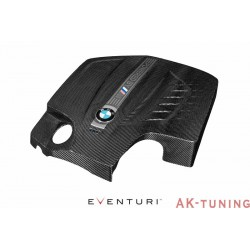 BMW M2 F87 - Svart Kolfiber Engine Cover - Eventuri | EVE-N55-M2-ENG