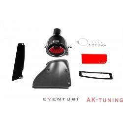 Golf MK7 GTi, R - Svart Kolfiber insug med Plastic Duct - Eventuri | EVE-2TFSI-PL-INT