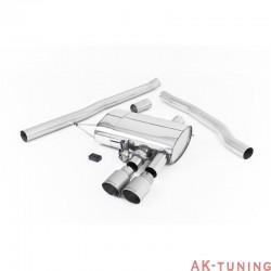 Mini Cooper S 2.0T F56 - Milltek cat-back (non-resonated) titanium GT ändrör inkl aktiva avgasventiler (via Bluetooth) - 2,75...