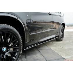 Sidokjol splitter - BMW X5 F15 M50d | AK-BM-X5-15-M-SD1T