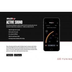 Aktivt avgasljud modul v2 - Audi SQ7 4.0 V8 TDI