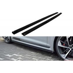 Sidokjol splitter - Audi RS5 B9 Coupé | AK-AU-RS5-2-SD1T
