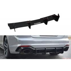 Bakre diffuser splitter v.2 - Audi RS5 B9 Coupé | AK-AU-RS5-2-CNC-RS2A