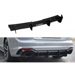 Bakre diffuser splitter v.2 - Audi RS5 B9 Coupé