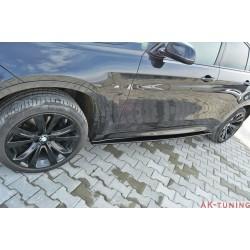 Sidokjol splitter - BMW X6 F16 M-paket