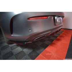 Bakre diffuser tillägg - Mercedes C-class W205 Coupé AMG-paket