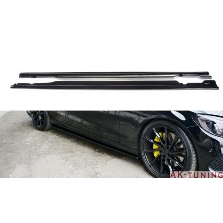 Sidokjol splitter - Mercedes C43 AMG W205