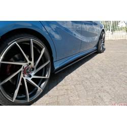 Sidokjol splitter - Mercedes A-class W176 Pre facelift AMG-Paket | AK-ME-A-176-AMGLINE-SD1T