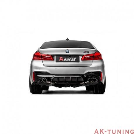BMW M5 F90 - Akrapovic Slip-On System i Titan med kolfiber utblås | akra-ME-BM/T/7H