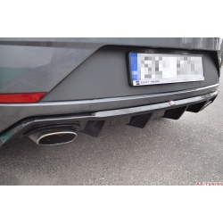Bakre diffuser - Seat Leon Mk3 Cupra Facelift