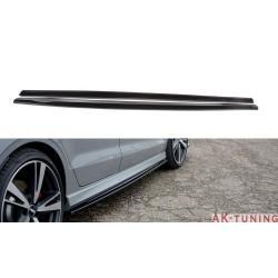 Sidokjol splitter - Audi RS3 8V Facelift Sedan | AK-AU-RS3-8VF-S-SD1T