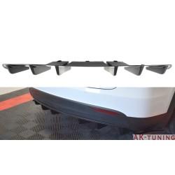 Bakre diffuser splitter - Tesla Model X | AK-TE-MODELX-RS2T