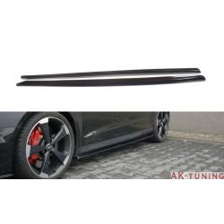 Sidokjol splitter - Audi RS3 8V Facelift Sportback | AK-AU-RS3-8VF-SD1T