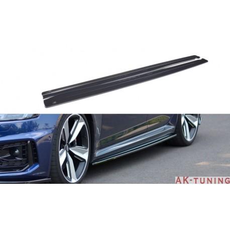 Sidokjol diffuser splitter - Audi RS4 B9 | AK-AU-RS4-B9-SD1T