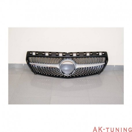 Mercedes A-class w176 - Honeycomb grill diamond