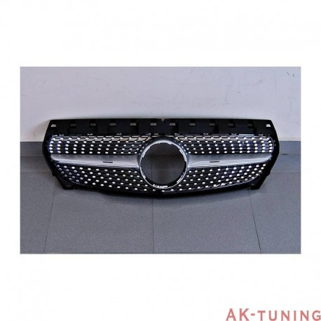 Mercedes CLA-class c177 - Honeycomb grill diamond | AK-TCM0186