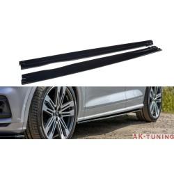 Sidokjol diffuser splitter - Audi Q5 mk2 2017- | AK-AU-SQ5-2-SD1T