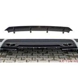 Bakre diffuser splitter - Mercedes A45 AMG Pre Facelift (W176) | AK-ME-A-176-AMG-RS1T