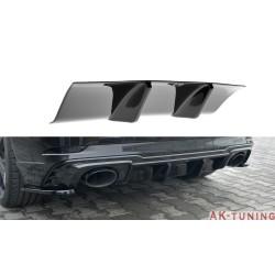 Bakre diffuser splitter - Audi RS3 8V Facelift Sportback