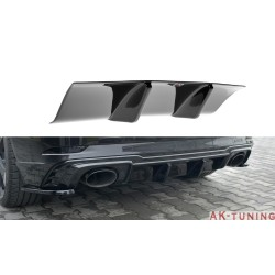 Bakre diffuser splitter - Audi RS3 8V Facelift Sportback | AK-AU-RS3-8VF-RS1T