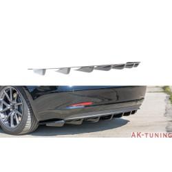 Bakre diffuser splitter - Tesla Model 3 | AK-TE-MODEL3-1-RS1T