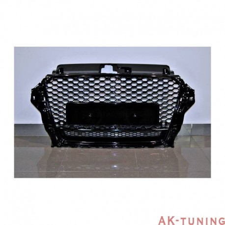 RS3 Honeycomb grill quattro, ej ACC - passar A3/S3 8V | AK-TCARS3011
