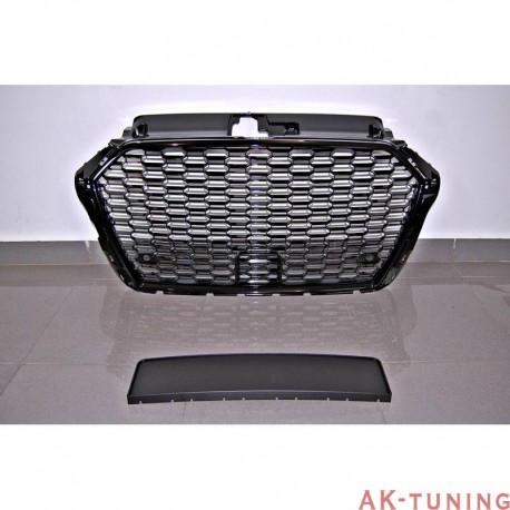 RS3 Honeycomb grill - passar A3/S3 8V Facelift