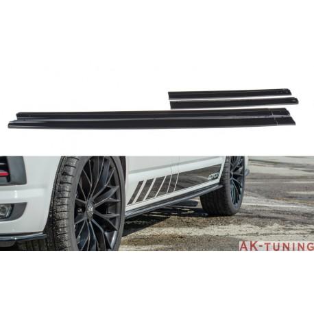 Sidokjol splitter - VW Transporter T6