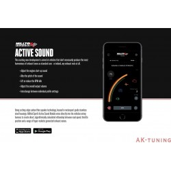 Aktivt avgasljud modul v2 - Audi A6 C7 3.0BiTDI | SSXAU668