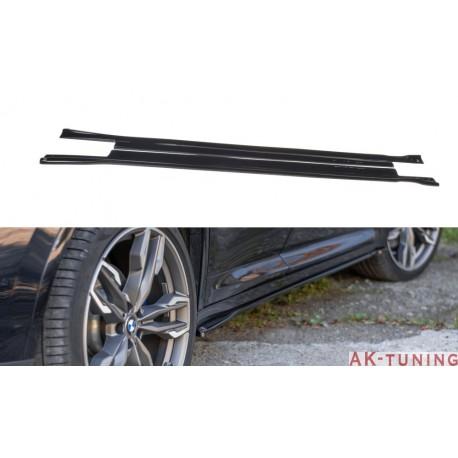 Sidokjol splitters - BMW X4 G02 M-pack