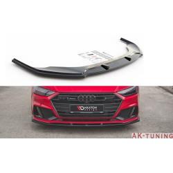 Frontläpp v.2 - Audi A7 C8 S-LINE | AK-AU-A7-C8-SLINE-FD2T