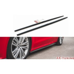 Sidokjol diffuser tillägg - Audi A7 C8 S-line | AK-AU-A7-C8-SLINE-SD1T