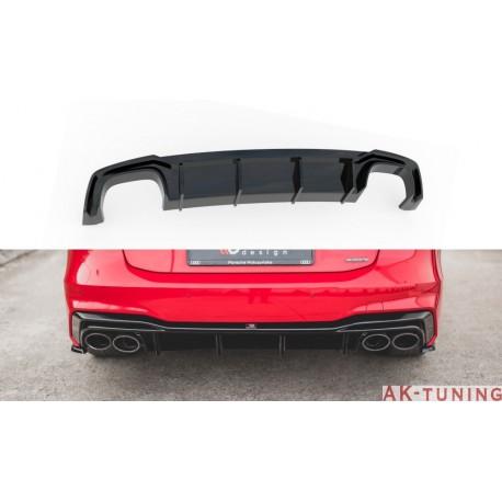 Diffuser splitter - Audi A7 C8 S-line   AK-AU-A7-C8-SLINE-RS1T