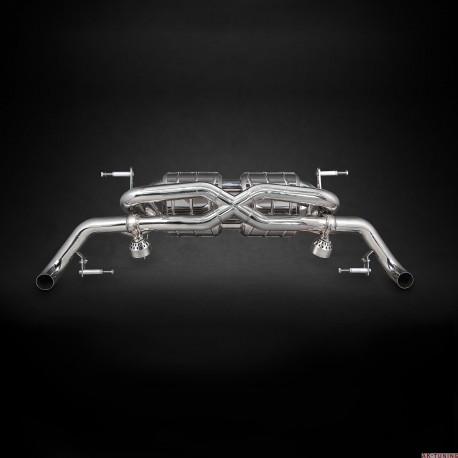 Audi R8 V10 12-15 - Capristo Cat-Back (X-pipe) med aktiva avgasventiler   ca-02AU00803001
