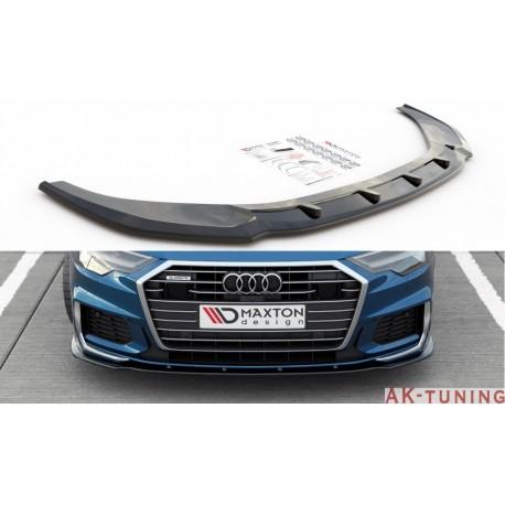 Frontläpp v.2 - Audi A6/S6 C8 S-line sedan/avant   AK-AU-A6-C8-SLINE-FD2T
