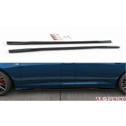 Sidokjol splitter - Audi A6/S6 C8 S-line sedan/avant | AK-AU-A6-C8-SLINE-SD1T