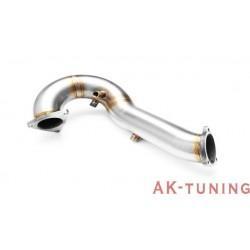 Downpipe (ersättningsrör) - Audi Q5 3.0TDI | AK-211103.3