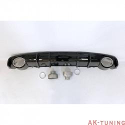 RS4 diffuser till Audi A4 B9 (med S-line) | AK-TCA0227