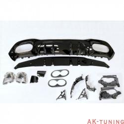 Bakre diffuser Mercedes W177 AMG look A45 | AK-TCM0248