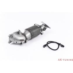 "Honda Civic Type R FK2 Turbocharged 2.0 L i-VTEC Downpipe med HJS sport katalysator - 3"""