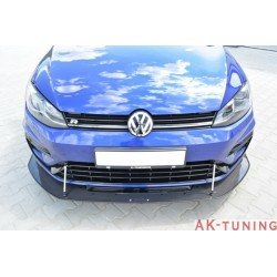 VW Golf MK7 R (facelift) carbon frontläpp | AK-VW-GO-7F-R-CARB-FD1