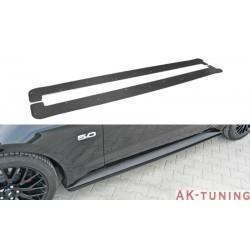 Sidokjol splitter - Mustang MK6 GT ABS/Carbon