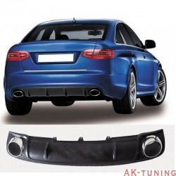 RS diffuser look till Audi A6 4F med standard stötfångare | AK-AT4197