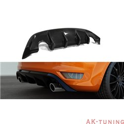 Bakre diffuser splitter - Ford Focus II ST Facelift   AK-FO-FO-2F-ST-RS1
